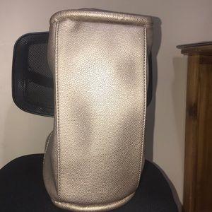 Neiman Marcus Bags - Neiman Marcus Metallic Gold Tote